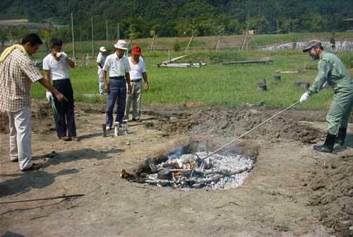炭焼き教室